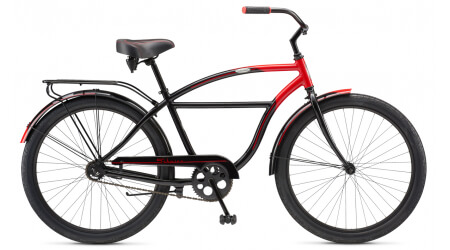 Schwinn Tornado black/red cruiser VZOREK