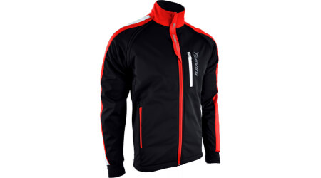 Silvini Mutta softshell bunda pánská black/red