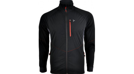 Silvini NATISONE MJ1100 pánská softshell bunda black/red