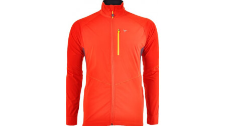 Silvini NATISONE MJ1100 pánská softshell bunda red/yellow