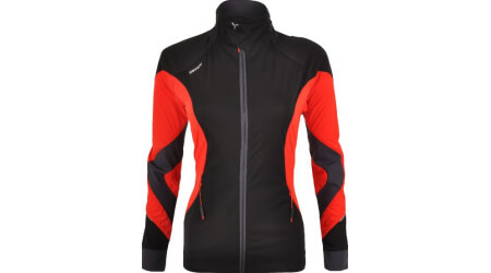 Silvini Serrone WJ1102 dámská softshell bunda black/red
