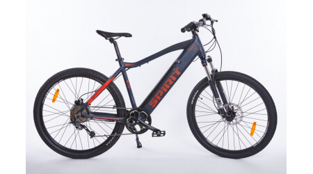 Spirit MTB II 27,5 elektrokolo black/red, integr.bat. 13Ah