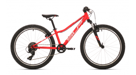 Superior Racer XC 24 2019 Matte Neon Red/White/Dark Red dětské kolo