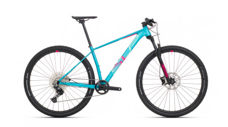 Superior XP 909 2021 Matte Turquoise/Pink Red horské kolo