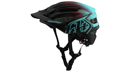 Troy Lee Designs A2 Mips přilba black/turquoise