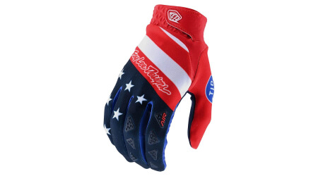 Troy Lee Designs Air rukavice Stars Black&Stripes Red/Blue