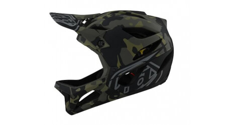Troy Lee Designs Stage MIPS přilba camo green 2021