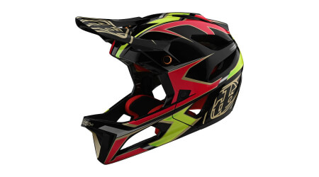 Troy Lee Designs Stage W/Mips Ropo přilba pink/yellow