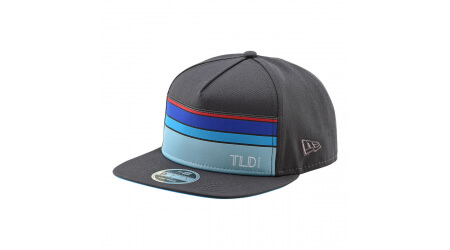 Troy Lee Designs Streamline Snapback Hat kšiltovka Graphite/Osfa vel. Uni