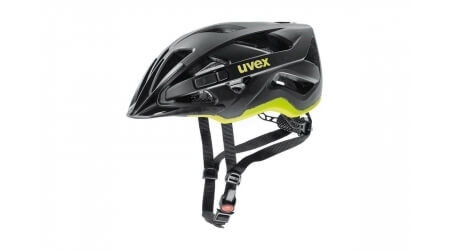 Uvex Active CC přilba black/yellow mat 2020