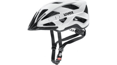 Uvex Active CC přilba white/black 2020