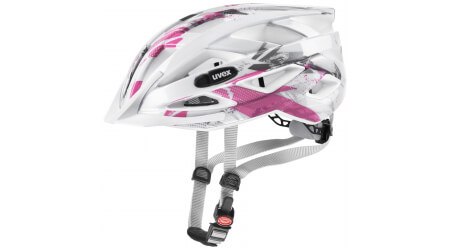 Uvex Air Wing přilba white/pink vel. Uni (52-57 cm)