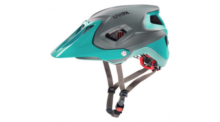 Uvex Quatro Integrale MTB přilba lightblue/grey mat