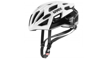 Uvex Race 7 přilba white/black 2020