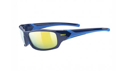 Uvex Sportstyle 211 brýle Blue Mirror Yellow 2020