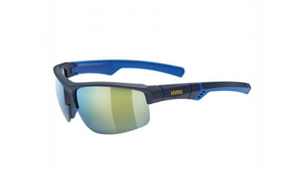 Uvex Sportstyle 226 brýle Blue/Mirror Yellow 2020