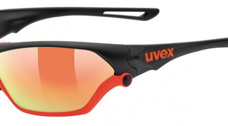Uvex Sportstyle 705 Black Mat Orange brýle
